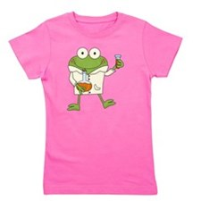 Frog Scientist Girl's Tee