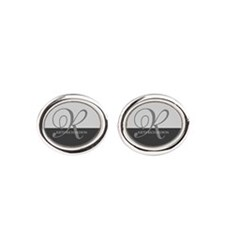 Elegant Custom Monogram Cufflinks