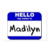 hello my name is madilyn  Postcards (Package of 8)
