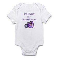 My Daddy Is A Photographer Infant Bodysuit