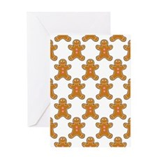 'Gingerbread Men' Greeting Card