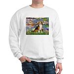 Lilies (#2) - Beagle #7 Sweatshirt