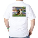 Lilies (#2) - Beagle #7 Golf Shirt