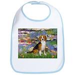 Lilies (#2) - Beagle #7 Bib