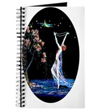 Tsanya Art Deco Starry Night Dancer Journal