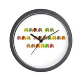 Egg-cellent Easter Wall Clock