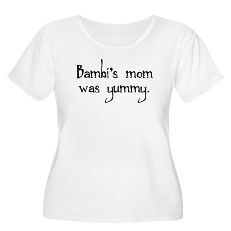 Bambi's Mom Women's Plus Size Scoop Neck T-Shirt