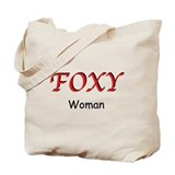 Foxy Woman Tote Bag