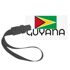 I HEART GUYANA FLAG Luggage Tag