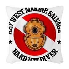 Key West Marine Salvage Woven Throw Pillow
