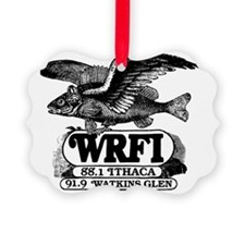 WRFI Flying Fish Ornament