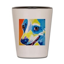 Jack Russell #4 Shot Glass