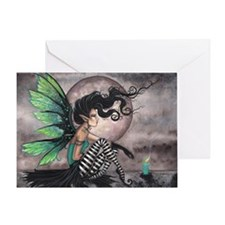 Secret Place Gothic Fairy Greeting Card