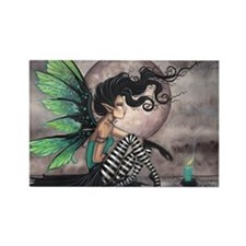 Secret Place Gothic Fairy Rectangle Magnet