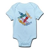 Colorful Trumpets Onesie
