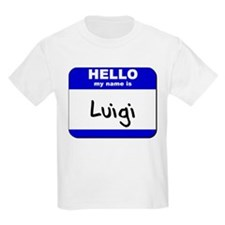 hello my name is luigi T-Shirt