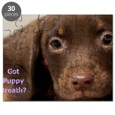 Puppy Dog Birthday Card Puzzle