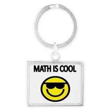 MATH IS COOL 2 Landscape Keychain