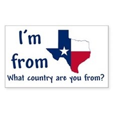 Im from Texas - what country a Decal