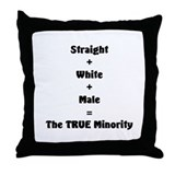 Cute Proud american Throw Pillow