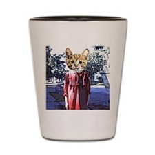 Purrrfect Art Shot Glass