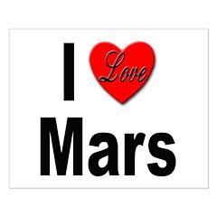 I Love Mars Posters