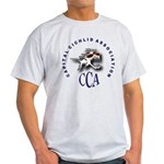 CCA Light T-Shirt logo front and back