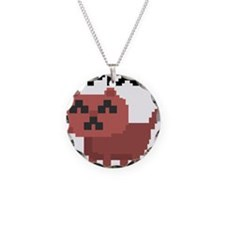 Pixel Cat Necklace