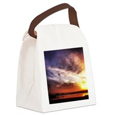 Jersey Sunset Canvas Lunch Bag