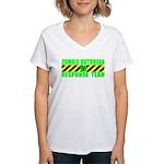 Zombie Outbreak Response Team Women's V-Neck T-Shi