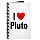 I Love Pluto Journal