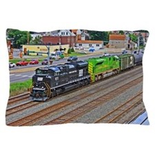 Norfolk Southern Heritage. Pillow Case