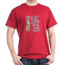 MBA Ivory Tower Cardinal Red T-Shirt