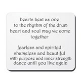 """Circle of Sisters chorus"" Mousepad"