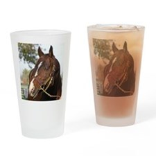 A.P. INDY Drinking Glass