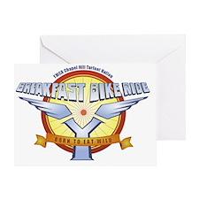 Breakfast Bike Ride Greeting Card