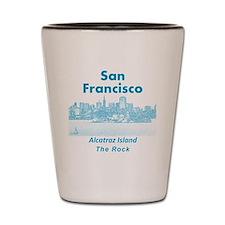 SanFrancisco_10x10_v1_AlcatrazIsland_Bl Shot Glass