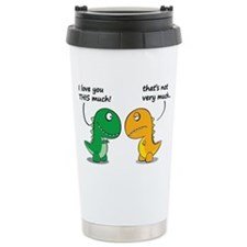 Cute Dinosaurs Travel Mug