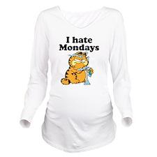 I Hate Mondays Long Sleeve Maternity T-Shirt