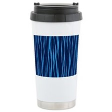 Blue Big Cat Fur Travel Mug