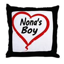 NONAS   BOY Throw Pillow