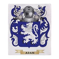 Adan Coat of Arms Throw Blanket