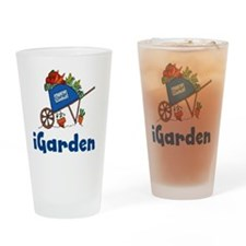iGarden Cart Drinking Glass