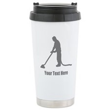 Vacuum Cleaning. Your Text. Travel Mug