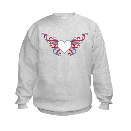 Tribal Heart Kids Sweatshirt