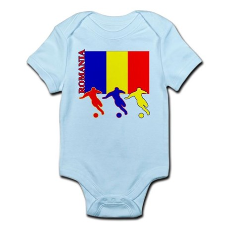 Romania Soccer Infant Bodysuit