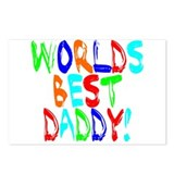 World's Best Daddy Postcards (Package of 8)
