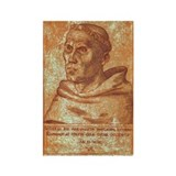 Luther the Monk Rectangle Magnet (10 pack)