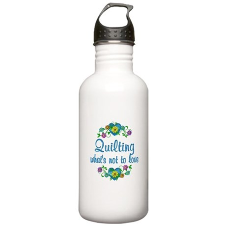 Quilting to Love Stainless Water Bottle 1.0L