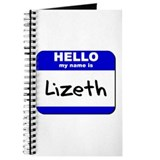 hello my name is lizeth Journal
